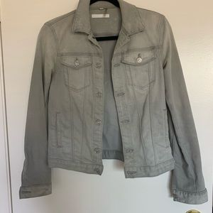 7 For All Mankind Grey Jean Jacket, size X-Small